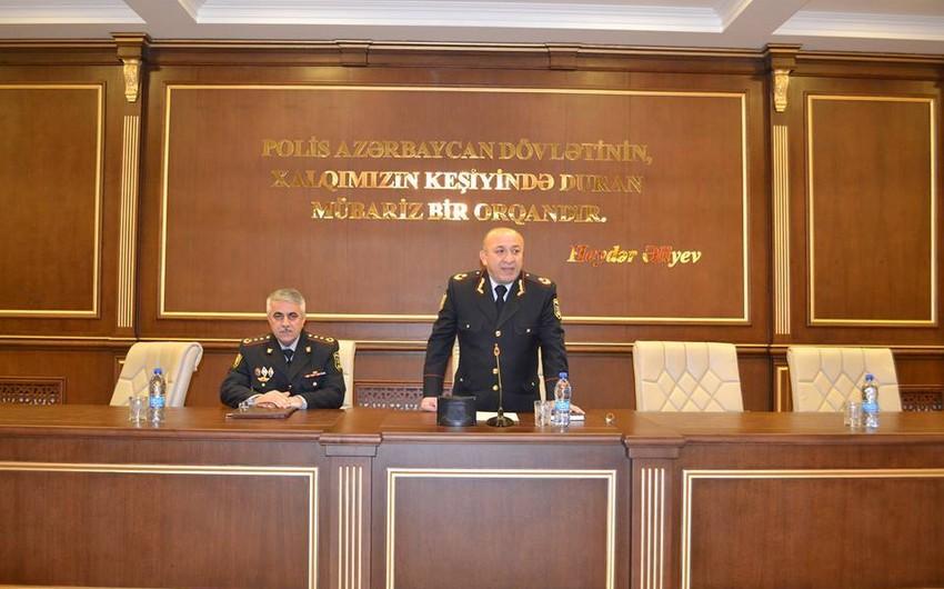 Bakı Şəhər Baş Polis İdarəsində Xocalı soyqırımına həsr olunmuş anım mərasimi keçirilib