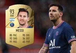 Месси получил наивысший рейтинг в FIFA 22