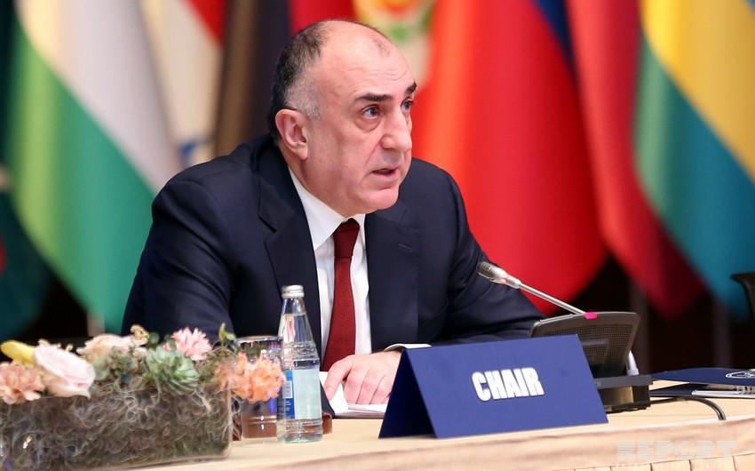 Эльмар Мамедъяров находится с рабочим визитом в Китае