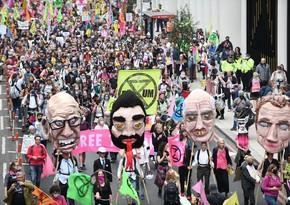 В Лондоне задержали более 20 участников протестов