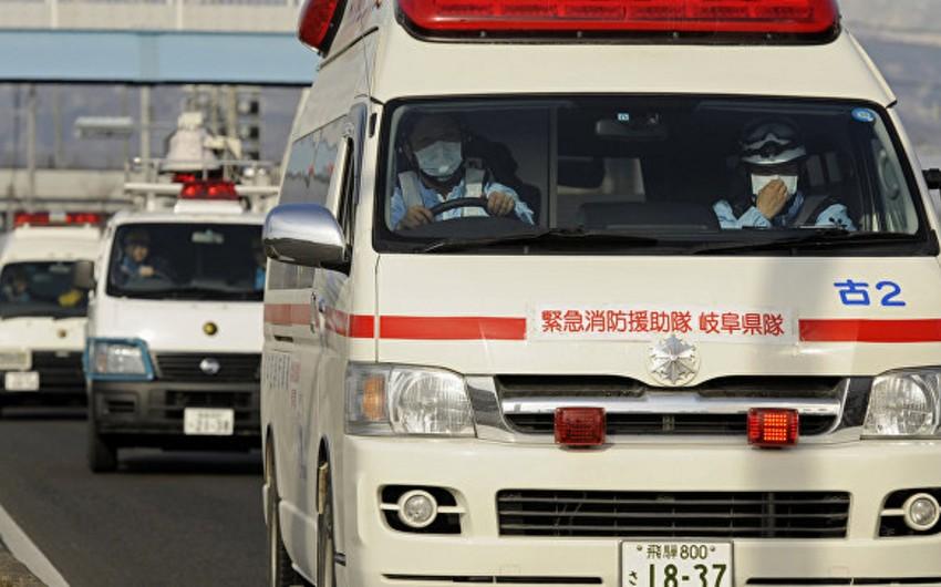 Yaponiyada məktəbli avtobusu aşıb, onlarla şagird xəsarət alıb