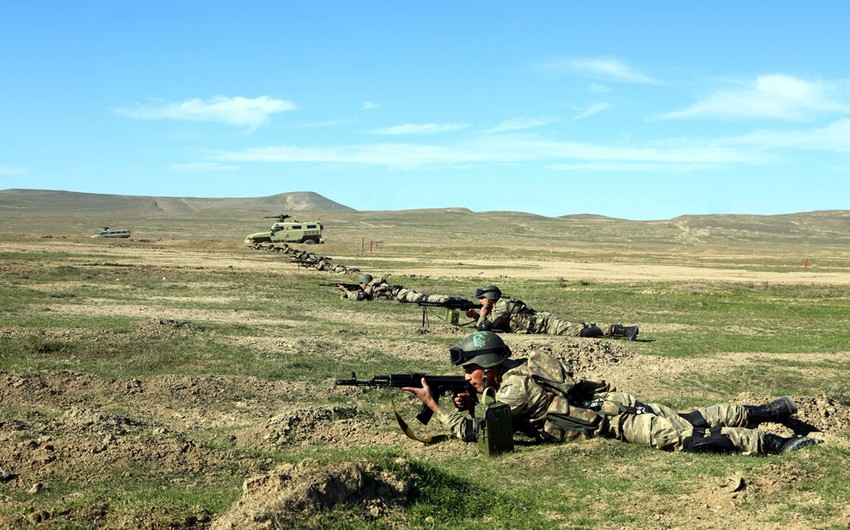 Live-fire exercise launched in the OCC military unit - VIDEO
