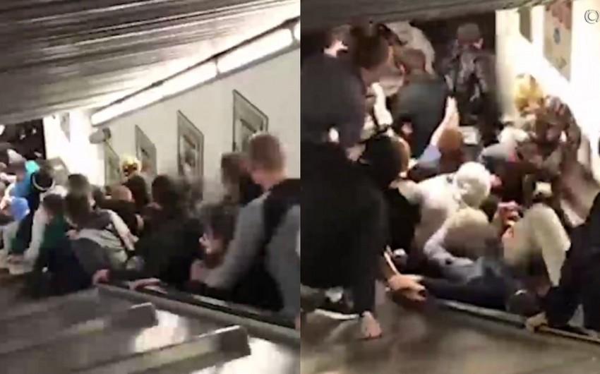 Число пострадавших из-за инцидента в метро Рима возросло до 30 - ВИДЕО