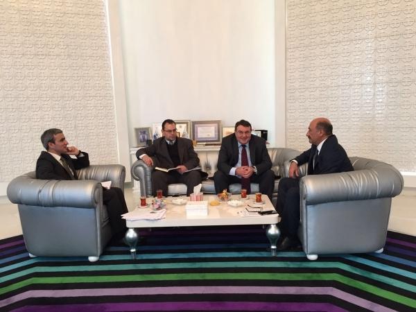 Minister Abulfas Garayev met with ambassadors of 4 countries
