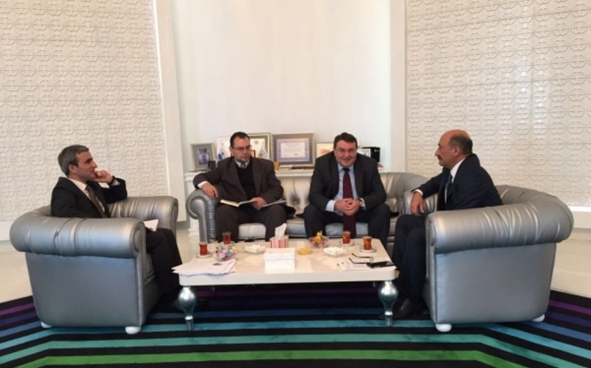 Minister ​Abulfas Garayev met with ambassadors of 4 countries