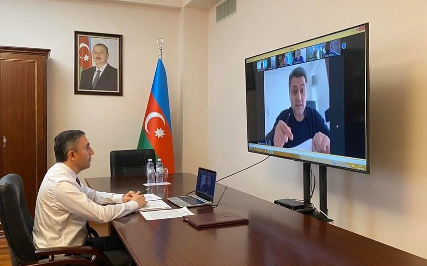 Milli Məclisin daha bir komitəsinin onlayn iclası keçirildi