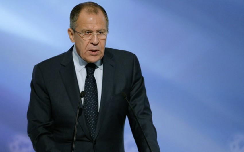 Lavrov: Suriya danışıqlarında terror qrupları siyahısına dair razılıq əldə edilməlidir