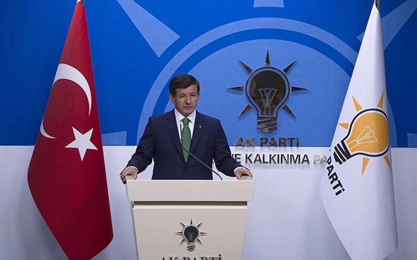 Əhməd Davudoğlu: CHP qısamüddətli koalisiya hökuməti qurmaq təklifimizi qəbul etmədi - VİDEO