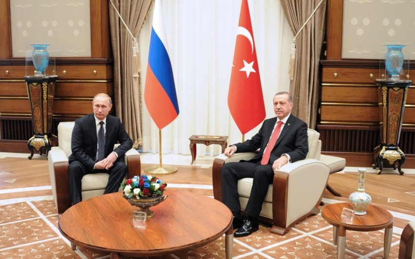 Putin: Türkiyəyə ixrac edilən təbii qazın qiyməti 6 faiz ucuzlaşacaq