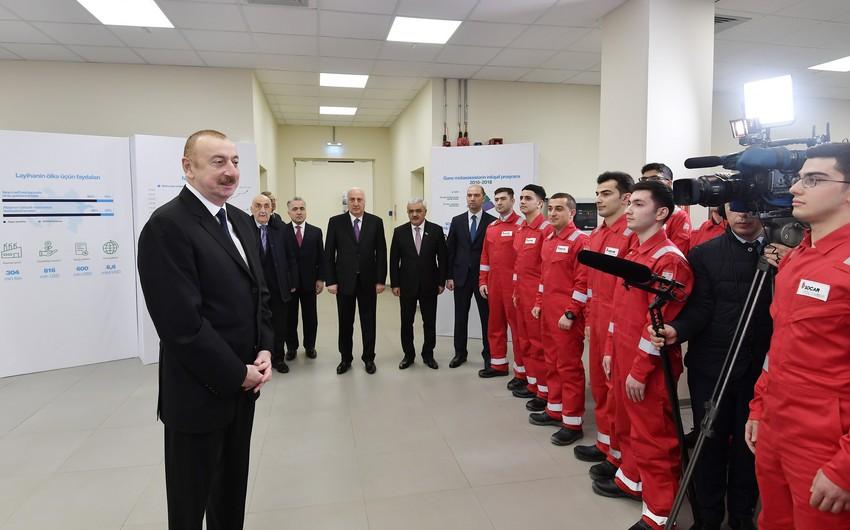 """Azərbaycan Prezidenti: """"SOCAR Polymer"""" qeyri-neft ixracını 15 faiz artıracaq"""""""