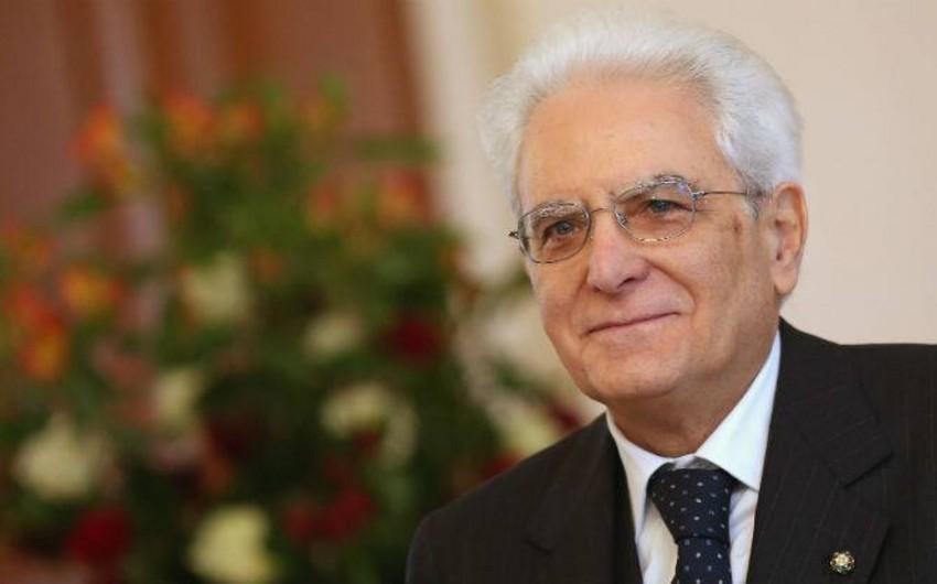 Sercio Mattarella: Bakı ilə Romanı çoxşaxəli tərəfdaşlıq birləşdirir