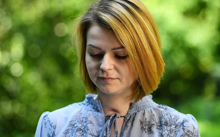 Viktoriya Skripal: Yuliya Skripal özünü yaxşı hiss edir