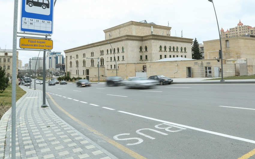 Vagif Asadov: Those who enter bus lane and parking lot will be fined