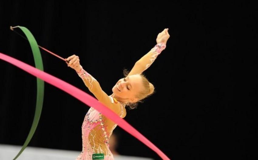 Rusiyalı gimnast Yana Kudryavtseva Bakı-2015də özünü maksimum göstərmək niyyətindədir