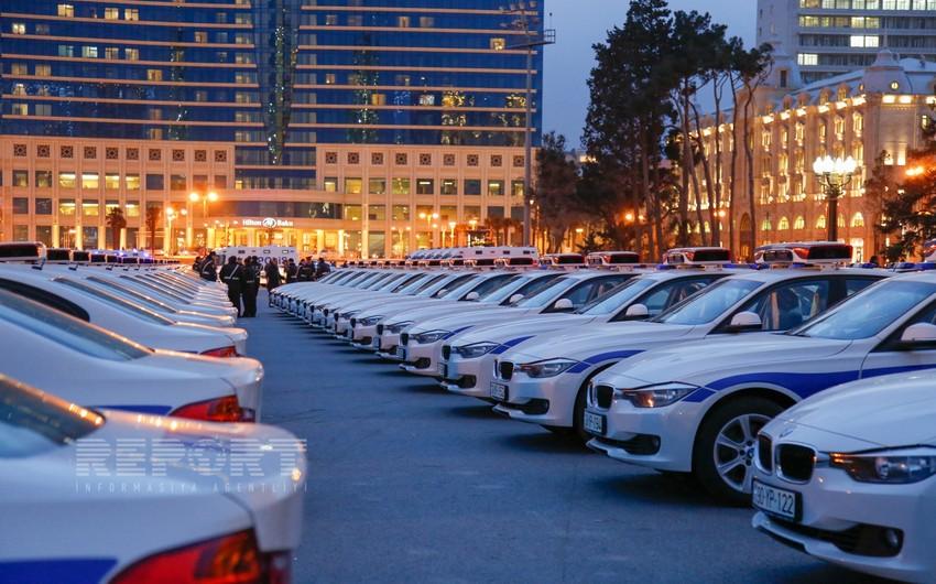Azərbaycan polisləri üçün yeni avtomobillər istifadəyə veriləcək - FOTOSESSİYA