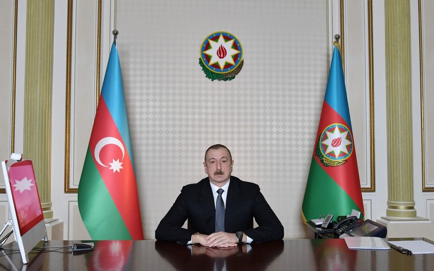 İlham Əliyev: Türkdilli dövlətlər bizim üçün qardaş ölkələrdir