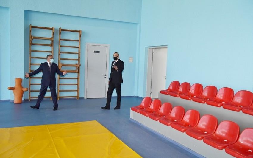 Tərtər Olimpiya İdman Kompleksinin açılışı olub - YENİLƏNİB-2