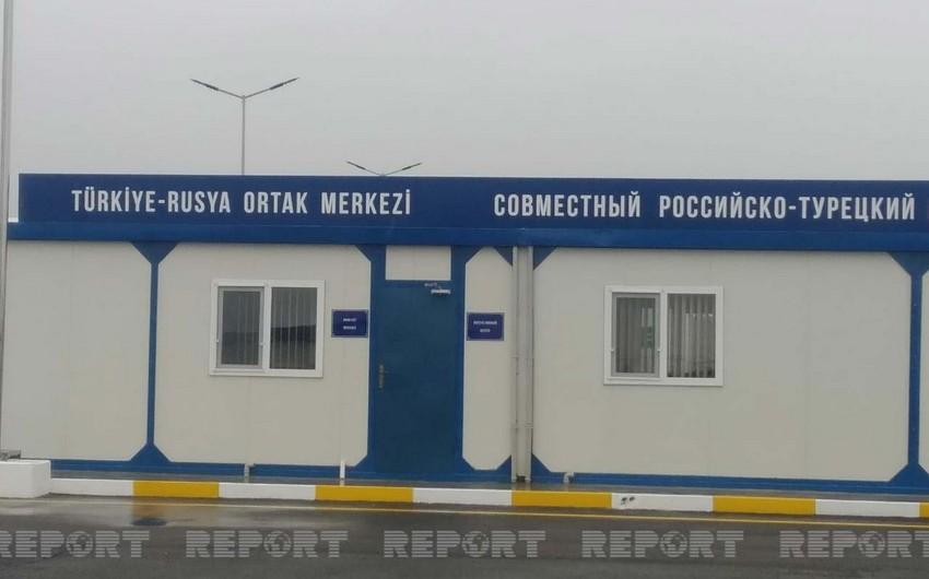 Türkiyə-Rusiya Müşahidə Mərkəzindəki rusiyalı zabitlər -
