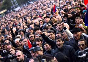 Yerevanda etiraz mitinqi keçirilir