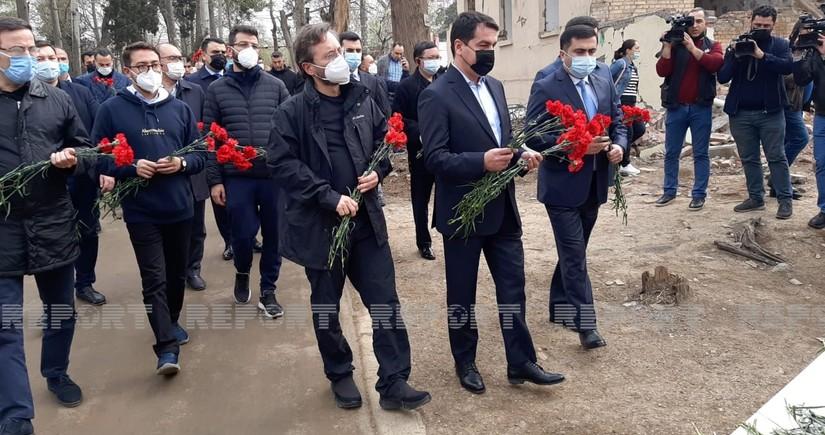 Делегация Тюркского совета прибыла в Гянджу