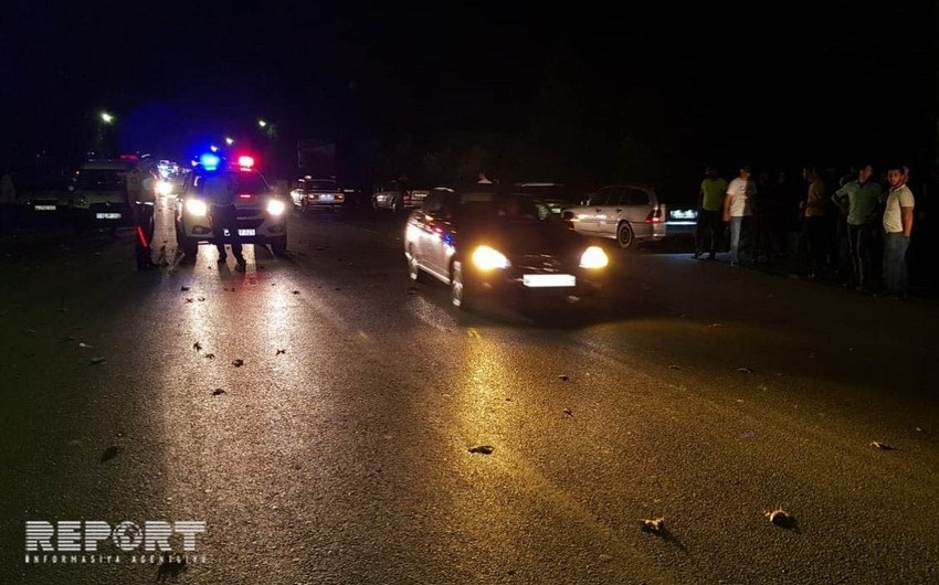 Göyçayda piyadanı maşın vuraraq öldürüb - FOTO - YENİLƏNİB