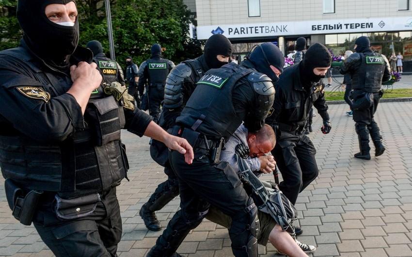 Belarusda yaralanan güc strukturları əməkdaşlarının sayı açıqlandı