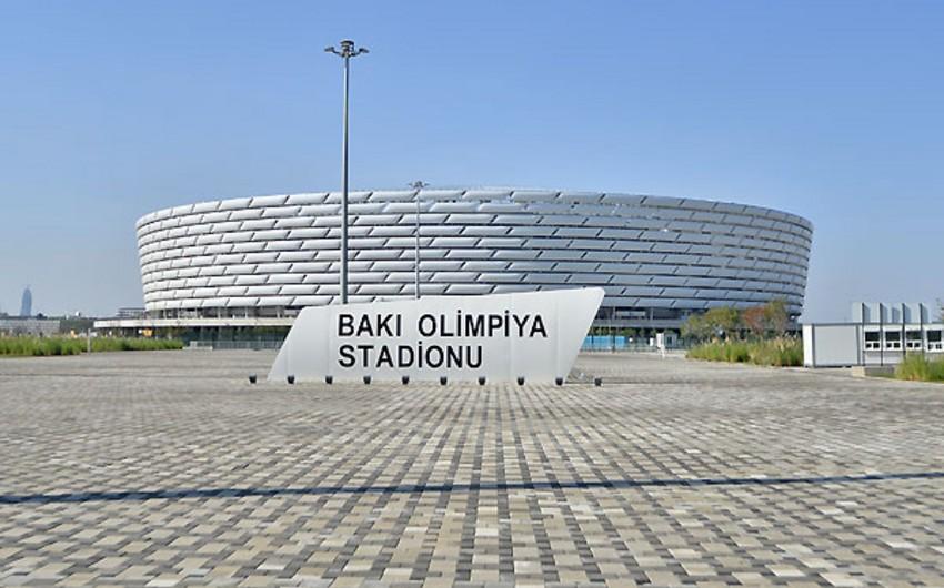 Бакинский олимпийский стадион применит новшество на товарищеском матче Азербайджан-Беларусь