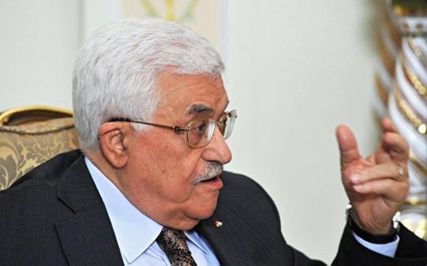 Mahmud Abbas: Fələstin İsraillə əldə edilmiş razılaşmalardan imtina edə bilər