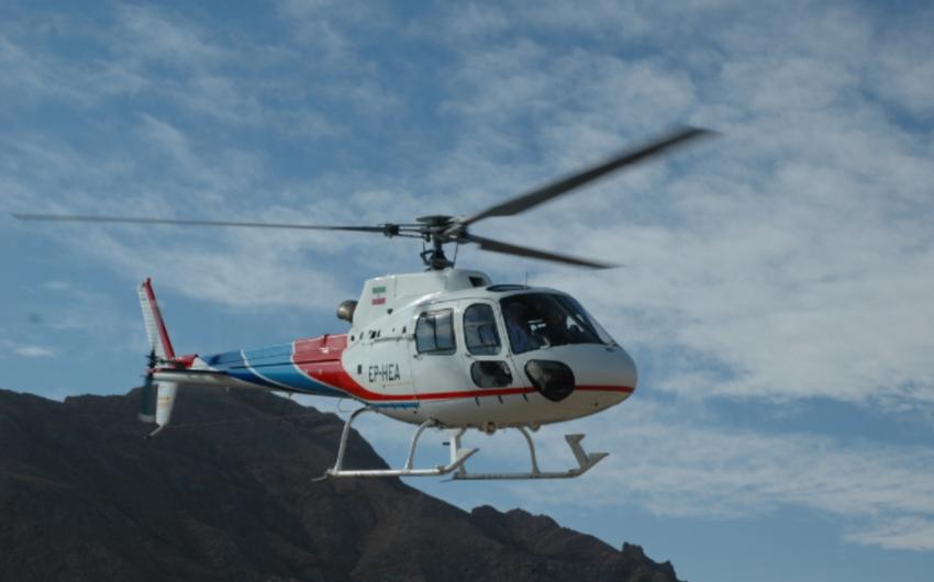 Вертолет, принадлежащий иранской нефтяной компании, потерпел крушение