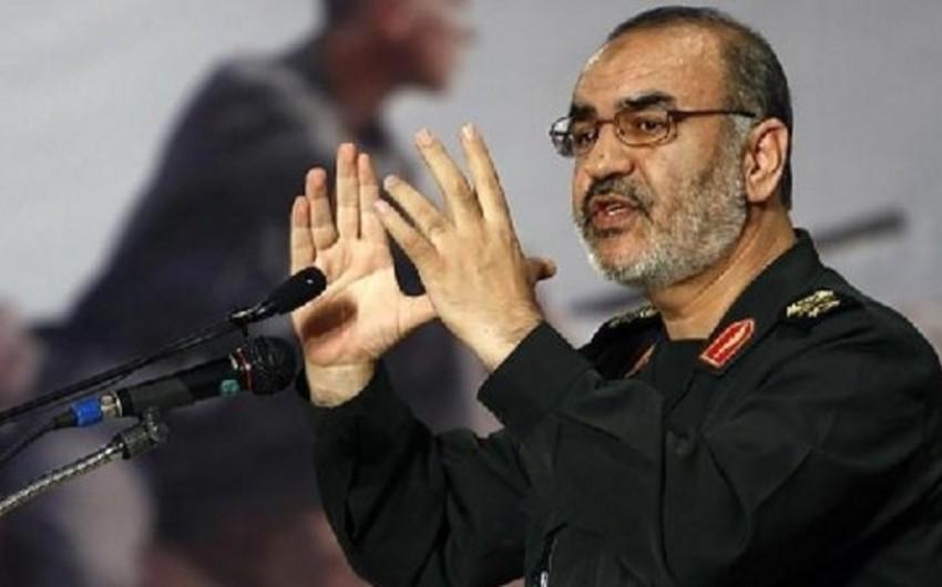 İran generalı ölkəsinin Suriyadakı hərbi fəaliyyəti ilə bağlı açıqlama verib