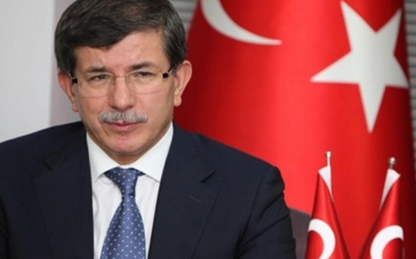 Türkiyə baş nazirinin Azərbaycana səfəri başlayıb