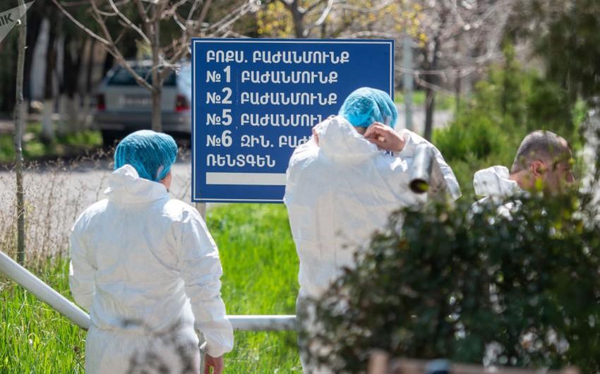 Ermənistanda virusa yoluxanların sayı 223 180-ə çatıb
