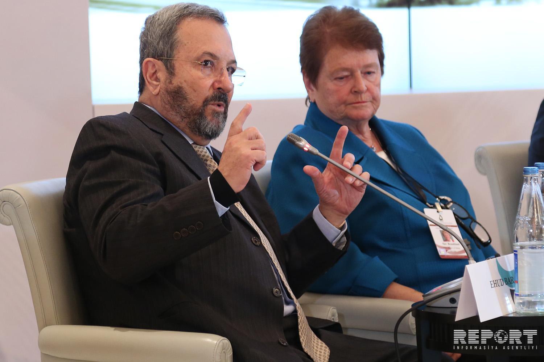 Ehud Barak: Azərbaycan açıq, tolerant cəmiyyətdir