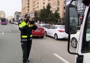 DYP dayanma-durma və parklanma qaydalarını pozan sürücülərə qarşı reyd keçirib