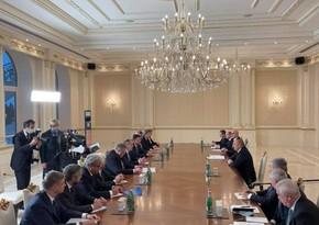 Российская межведомственная делегация провела встречу в Баку