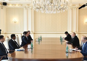 President Ilham Aliyev receives ICESCO Director General