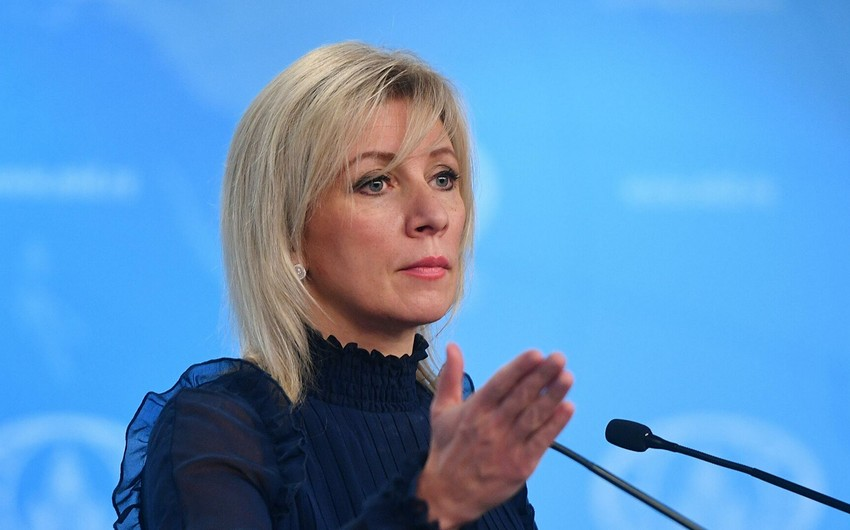 Zakharova: Russia is ready to support humanitarian actions between Baku and Yerevan