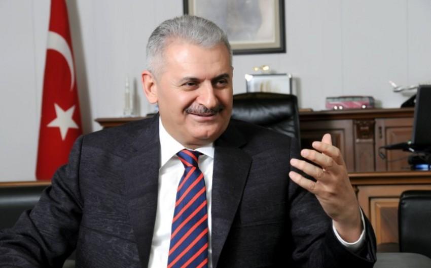 Türkiyənin baş naziri Rusiya ilə yaranan problemlərin aradan qaldırılmasındakı xidmətlərinə görə Azərbaycana təşəkkür edib