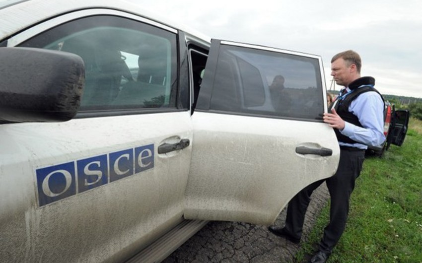 OSCE monitoring on contact line ended with no incident