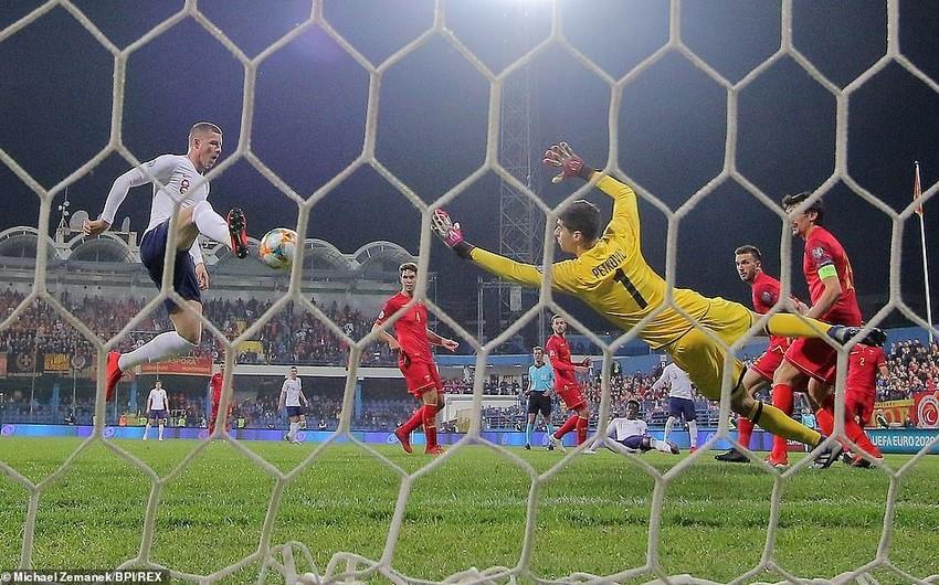 Англия разгромила Черногорию в матче отбора ЧЕ-2020