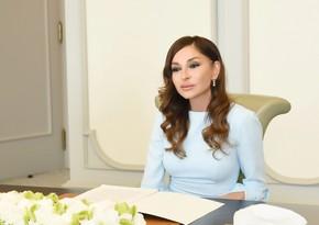 Mehriban Əliyeva Şuşadan paylaşım edib
