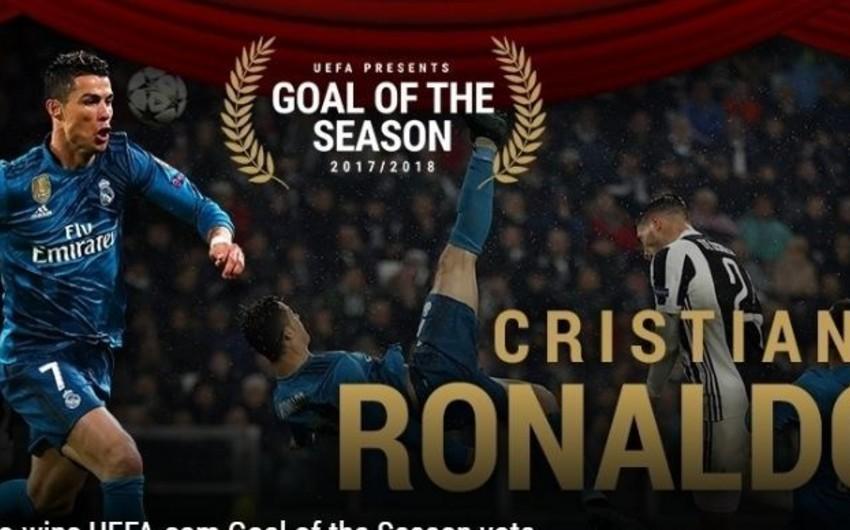 UEFA 2017/2018 mövsümünün ən yaxşı qolunu açıqlayıb