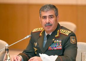 Zakir Həsənov: Tankçılarımız artıq öz məharətlərini göstərib
