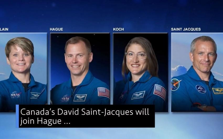 NASA astronavtları açıq fəzaya çıxışı başa vurublar