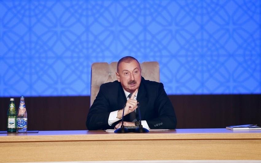 Prezident İlham Əliyev özəl banklara ciddi xəbərdarlıq edib
