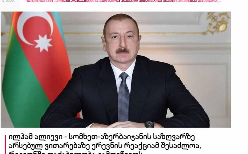 Azərbaycan Prezidenti ilə ABŞ Prezidentinin müşaviri arasındakı telefon danışığı Gürcüstan mətbuatının diqqət mərkəzində olub