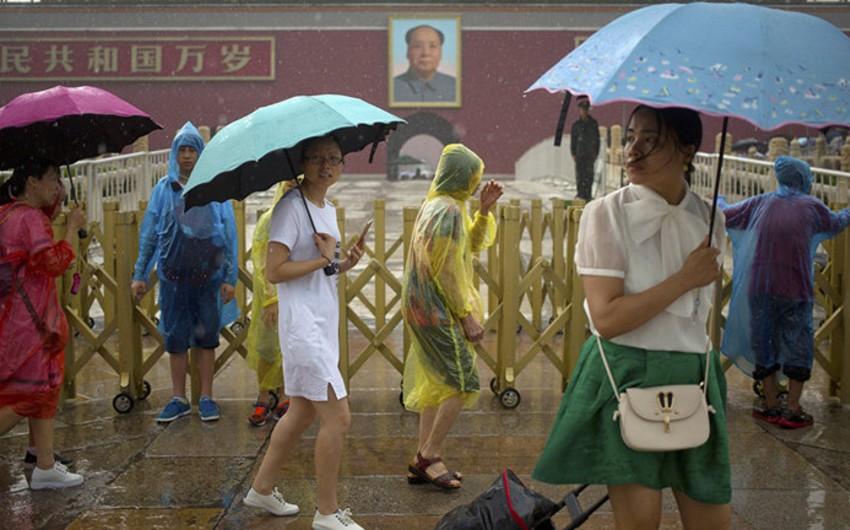 Çinin cənubundakı daşqınlar 26 nəfərin ölümü ilə nəticələnib