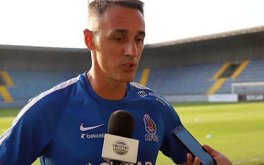 Milan Obradoviç: Komanda sabahkı oyuna yaxşı hazırlaşıb