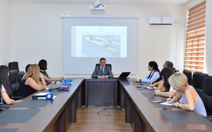 Sənaye və İnnovasiyalar üzrə Bakı Dövlət Peşə Təhsil Mərkəzinə infotur təşkil olunub