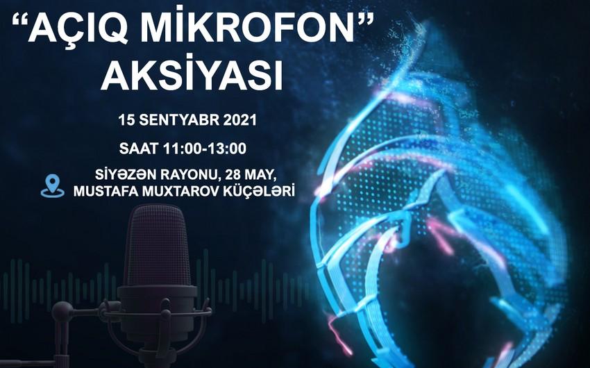 """""""Azəriqaz""""ın növbəti """"Açıq mikrofon"""" aksiyası Siyəzəndə təşkil olunacaq"""